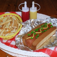 Hotdog & French Fries