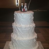 Rustic Weddng Cake