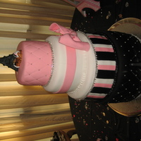 Paris Theme Babyshower Cake
