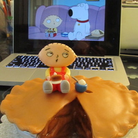 Stewie's Pie from an episode of Family Guy