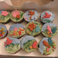 Rainforest Cupcakes