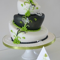 Green Grey Wedding Topsy Love this one!