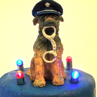 Rino The Police Dog Topper