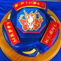Beyblade Cake For 9 Year Old Boy