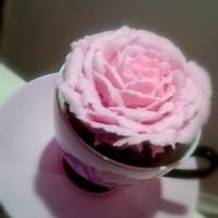 Buttercream Rose Cupcake   Buttercream rose cupcake