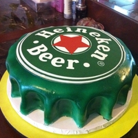 Heineken Cap Made to a 21 birthday.