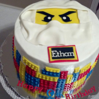 Icing Smiles Cake For A Little Boy Who Likes Ninjago   Icing Smiles cake for a little boy who likes Ninjago