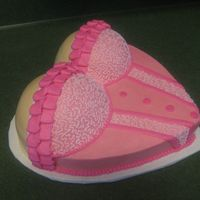 Lingerie Shower Cake When someone ask me if I could make a cute cake for a lingerie shower, I knew just where to look. Thanks to cakesbyallison and others for...
