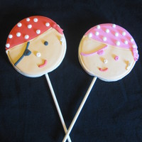 Boy & Girl Pirate Cookies
