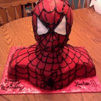 Spiderman Bust Cake Thanxs again to all the CCer's for your inspiration