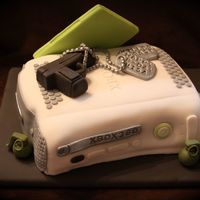 Xbox 360 Call Of Duty XBox 360 call of duty cake