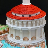 This Is The Catalina Island Casino Built In 1939 On Catalina Island Ca I Made This Cake For A Family Who Is Celebrating Their Mothers 80  This is the Catalina Island Casino, built in 1939 on Catalina Island, CA. I made this cake for a family who is celebrating their mother&#...