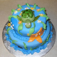 Under The Sea! My favorite cake to make so far!