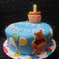 Pooh Bear   for a special one year old.