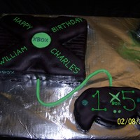 Xbox Birthday Cake This cake was for my sons 15th birthday party, which had a video game theme.