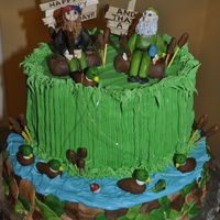 Duck Dynasty Birthday Cake #2 My second Duck Dynasty-themed birthday cake made for my sons birthday, again based on the great ideas found on this web site !
