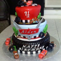 Cars Birthday Cake   Cars