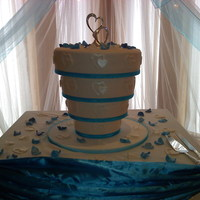 Upside Down Wedding Cake   Upside Down Wedding Cake