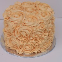 Orange Dream I'm completely new to decorating and I wanted to try my hand at making a rose swirl cake. It's not perfect by a long shot, but I...