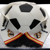 Real Madrid Cake   Real Madrid cake