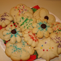 Holiday Spritz Assorted spritz cookies