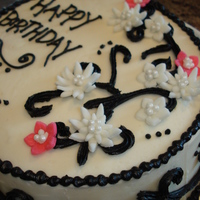 My Birthday Cake It sucks to make your own b-day cake but its the best way to try something new. I was happy with the results.