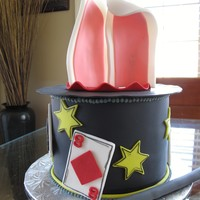 Magician/magic Hat Birthday Cake