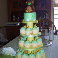 Baby Shower Cake/cupcakes