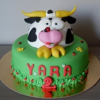 Cow Cake :)