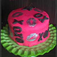 Hugs And Kisses Cake hugs and kisses cake