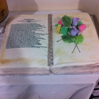 Bible Cake For Birthday