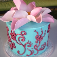 Indian Lotus Flower Cake