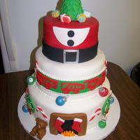 Toys For Tots Christmas Caje I made this cake as a donation for a Toys for Tots drive that was held by reality TV stars from Big Brother, Survivor, Glass House, Amazing...