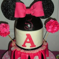 Cheerleader Minnie Mouse Birthday