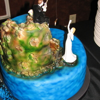Fishing For A Bride Cake