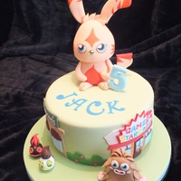 Moshi Monster Cake Moshi Monster cake - Large Katsuma was modelled from RKT's