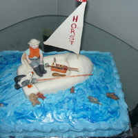 Gone Fishing made for my 80 yr old neighbour, he loved it