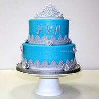 Blue Princess Cake Blue Princess cake