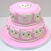 Hello Kitty Birthday Cake And Cookies Hello Kitty