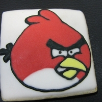 Angry Bird Cookie   Angry Bird cookie