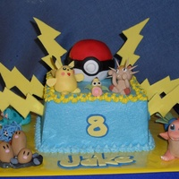 Pokemon I didn't even know what Pokemon was-so I found cakes here. Thank you to all who posted Pokemon cakes, especially cakenut516, for the...