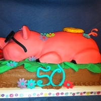 Roast Pig Cake Have you ever done a cake that every thing that could go wrong-did? That's this cake. when it was almost finished I commented to my...