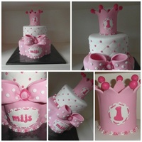 Little Princess Crown Cake little princess crown cake