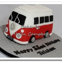 Campervan Cake *Campervan cake - made from madiera