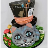 Alice In Wonderland Cake Alice in Wonderland cake - the Tim Burton version
