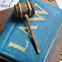 Law Book Cake this cake was for a lawyer!!