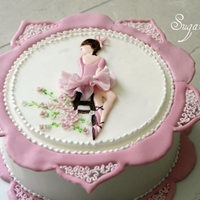 Ballerina this cake was really fun to do, i learned a lot from this cake but it was really worth it :)