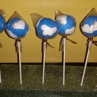 Clouds Cake Pops   Clouds Cake Pops