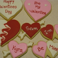 Assorted Valentine Cookies