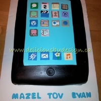 Bar Mitzvah Ipad This was for my cousin's son who was hoping someone would give him an iPad as a gift. I thought this might be the only way he'd...